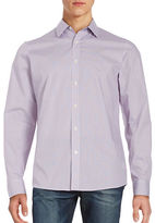 Michael Kors Oval Print Cotton Sportshirt