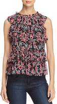 Kate Spade Tapestry Print Silk Top