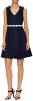 Donna Ricco Cotton Flared Dress
