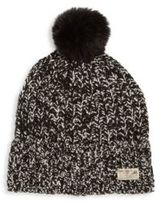 Ralph Lauren Kid's Faux Fur Pom-Pom Hat