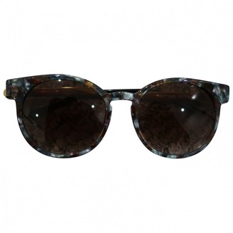 Thierry Lasry Green Plastic Sunglasses