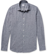 Incotex - Kurt Slim-fit Checked Slub Cotton Shirt