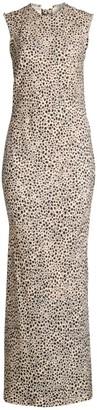Rebecca Vallance Anya Leopard Maxi Dress