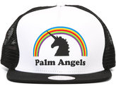 Palm Angels logo print cap - men - Cotton/Polyester - One Size
