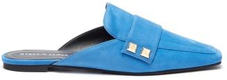 Stella Luna Stud embellished suede slides