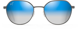 Maui Jim Hukilau 52mm PolarizedPlus2(R) Gradient Round Sunglasses
