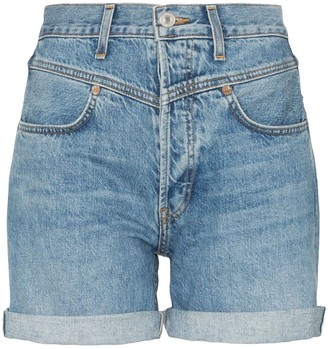 RE/DONE '90s Turn-Up Denim Shorts