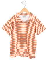 Papo d'Anjo Boys' Striped Polo Shirt