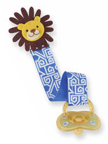 Mud Pie Lion Pacy Clip in Blue