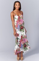 MUMU Turlington Maxi Dress ~ Duchess Darling