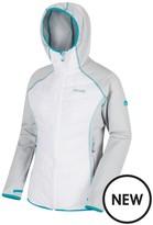 Regatta Anderson II Hooded Jacket - Grey/White
