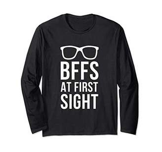 Best Friend Quote Friendship Gift For Girls Women Funny BFF Long Sleeve T-Shirt