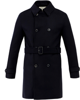 MACKINTOSH GM-005F Double Breasted 100% Wool Coat With Belt
