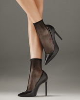 Wolford Grid Socks