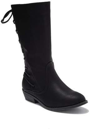 Bebe Lace-Up Riding Boot (Toddler, Little Kid & Big Kid)
