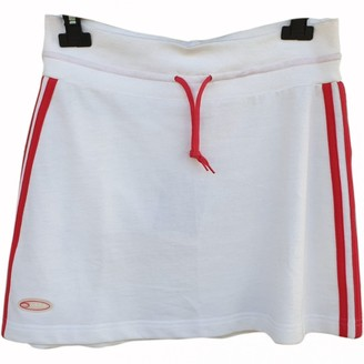 adidas White Cotton Skirts