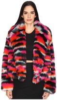 McQ by Alexander McQueen Cropped Fur Jacket