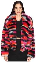 McQ Cropped Fur Jacket