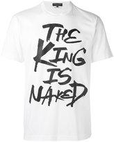 Comme des Garcons The King T-shirt - men - Cotton - S
