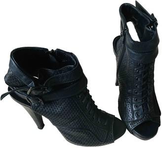 The Kooples Black Leather Heels