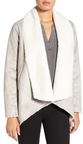 Kenneth Cole New York Women's Cascade Faux Shearling Coat
