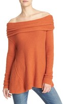 Free People Women's 'Strawberry Fields' Off The Shoulder Sweater