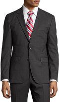 HUGO BOSS Jets/Lenon Regular-Fit Suit, Charcoal