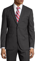 HUGO BOSS Slim-Fit Jets/Lenon Regular-Fit Suit, Charcoal