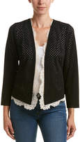 Tracy Reese Lace-Trim Cardigan
