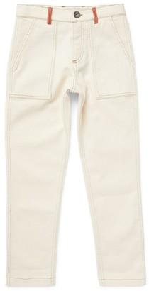 BRUNELLO CUCINELLI KIDS Cotton Straight Jeans (8-11 Years)