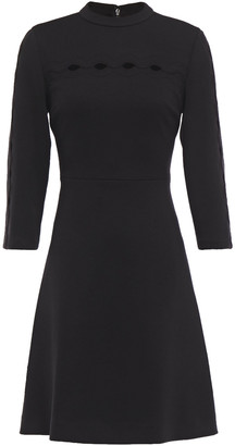 Elie Tahari Senna Cutout Ponte Mini Dress