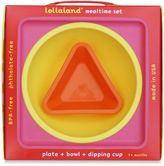 Lollaland® 3-Piece Mealtime Set in Pink/Yellow/Orange