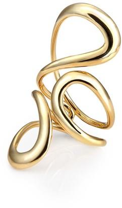 Melissa Kaye Aria Jane 18kt yellow gold ring