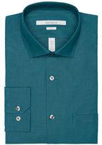 Perry Ellis Slim Fit Dobby Dot Dress Shirt