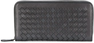 Bottega Veneta Intrecciato Weave Wallet