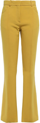 Victoria Victoria Beckham Stretch-crepe Flared Pants