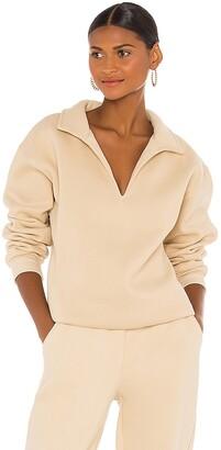 ATOIR x Rozalia Collared Sweatshirt