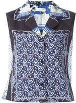 Wunderkind scarf print blouse