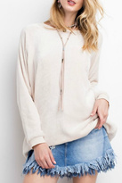 Easel Soft Pullover Tunic Top