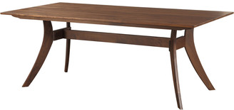 Moe's Home Collection Florence Rectangular Dining Table Small Walnut