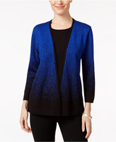 Alfred Dunner Layered-Look Ombré Sweater