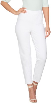 Joan Rivers Classics Collection Joan Rivers Petite Joan's Signature Pull-on Ankle Pants