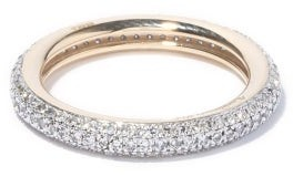 Otiumberg Diamond & Recycled 9kt Gold Ring - Crystal