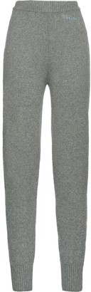 Prada slim-fit cashmere track pants