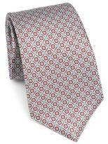 Kiton Geometric Silk Tie