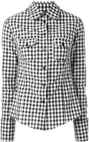 Marques Almeida Marques'almeida checked shirt