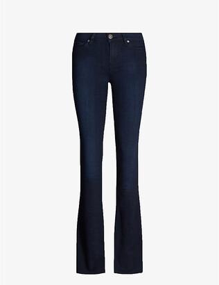 Paige Manhattan high rise bootcut jeans