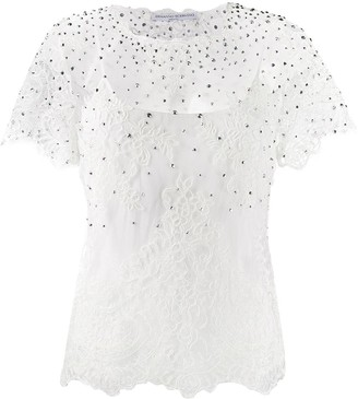 Ermanno Scervino embellished blouse