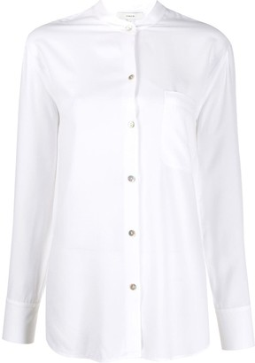 Vince Fitted Long-Sleeved Shirt