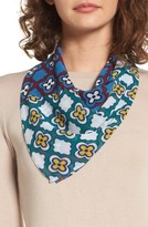 Halogen Women's Summer Medallion Square Scarf